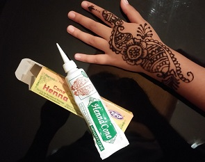 Mehndi Henna Buy : Mehndi paste tube buy online at the asian cookshop